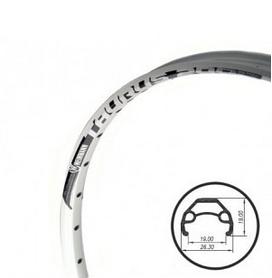 """Обод велосипедный Weinmann Taurus 2000 Disc 26"""" 32Н белый"""