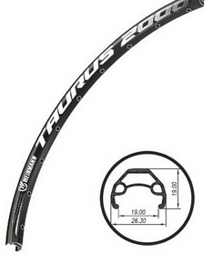 """Обод велосипедный Weinmann XM-280 Disc 29"""" 32Н черный"""