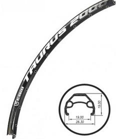 """Обод велосипедный Weinmann Taurus 2000 Disc 29"""" 36H черный"""