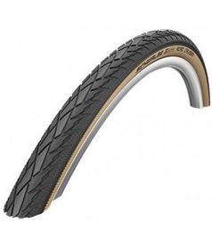 "Покрышка велосипедная Schwalbe 28""x1.75"" (47x622) Road Cruiser HS377 коричневая"