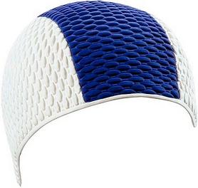 Шапочка для плавания мужская Beco 7330 17 бело-синяя