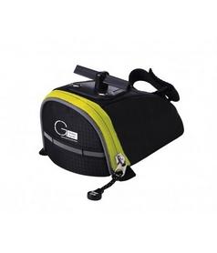 Сумка под сиденье Green Cycle Spread черно-желтая - S
