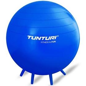 Мяч для фитнеса (фитбол) с ручками Tunturi Sit Ball 14TUSFU269 65 см синий