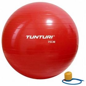 Фото 1 к товару Мяч для фитнеса (фитбол) Tunturi Gymball 14TUSFU282 75 см красный