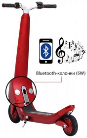 Фото 3 к товару Электросамокат SmartYou X5 Elite ESX5ER Red