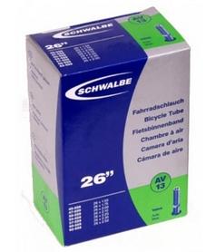 """Камера велосипедная  Schwalbe AV13 26"""" (40/62x559) 40 мм EK AGV"""