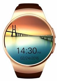 Умные часы SmartYou S1 Gold/Brown