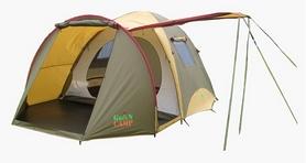 Фото 1 к товару Палатка четырехместная Х-1036 GreenCamp