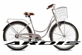 """Велосипед городской женский Ardis Pegi 26"""" белый, рама - 17"""""""