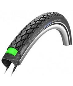 """Покрышка велосипедная Schwalbe 28""""x2.00"""" (50-622) Marathon HS420 GreenGuard B/B+RT EC 67EPI 35B"""