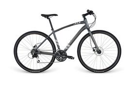 "Велосипед городской Apollo Trace 30 28"" серый, рама - L"