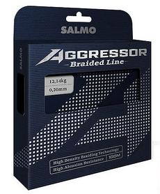 Шнур Salmo Agressor Braid 100 м 0,13 мм