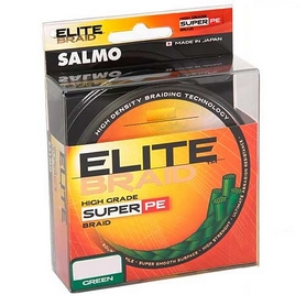 Шнур Salmo Elite Braid Green 200 м 0,17 мм