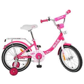 """Велосипед детский Profi Princess G1613 16"""" малиновый"""
