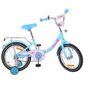 """Велосипед детский Profi Princess G1612 16"""" голубой"""