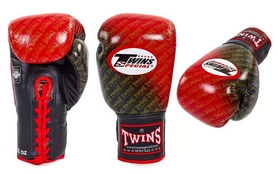 Перчатки боксерские Twins FBGLL-TW1-RD красные