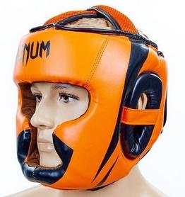 Шлем боксерский Flex Venum Elite Neo BO-5339-OR оранжевый