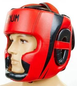 Шлем боксерский Flex Venum Elite Neo BO-5339-R красный