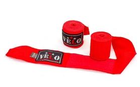 Бинты боксерские профессиональные Aiba 4080-3,5(R) красные