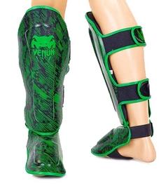 Защита для ног (голень+стопа) Flex Venum Fusion VL-5797-G черно-салатовая