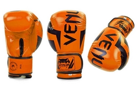 Перчатки боксерские Flex Venum Elite BO-5338-OR оранжевые