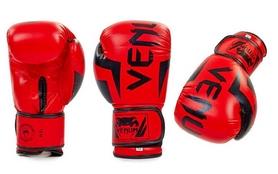 Перчатки боксерские Flex Venum Elite BO-5338-R красные