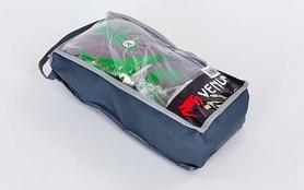 Фото 5 к товару Перчатки боксерские кожаные Venum Challenger BO-5245-BR коричнево-салатовые
