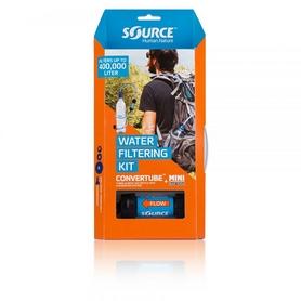 Питьевая система Source Convertube+Sawyerfilter без емкости синяя