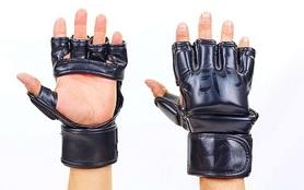 Перчатки для смешанных единоборств MMA Flex Venum Elite Neo VL-5788-BK черные