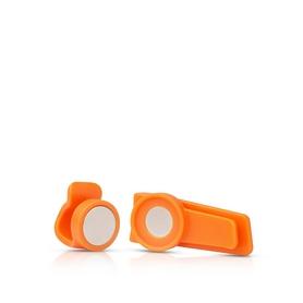 Крепление для трубки питьевой системы Source Magnetic clip оранжевое