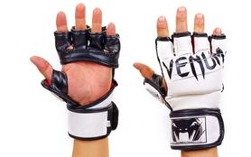 Перчатки для смешанных единоборств MMA Flex Venum Undisputed VL-5790-W белые