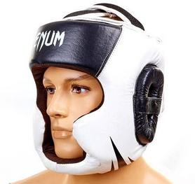 Шлем боксерский Venum Challenger BO-5246-BK черно-белый