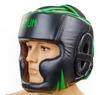 Шлем боксерский Venum Challenger BO-5246-G черно-салатовый