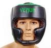 Шлем боксерский Venum Challenger BO-5246-G черно-салатовый - Фото №2