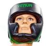 Шлем боксерский Venum Challenger BO-5246-G черно-салатовый - Фото №4