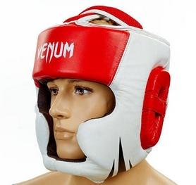 Шлем боксерский Venum Challenger BO-5246-R красный