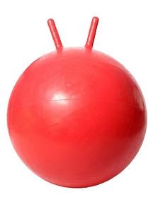 Мяч для фитнеса (фитбол) с рукоятками HouseFit DD 55 см Красный
