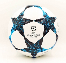 Мяч футбольный Hydro Technology Shine Champions League FB-5835