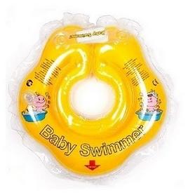 Круг на шею Baby Swimmer Сlassic желтый