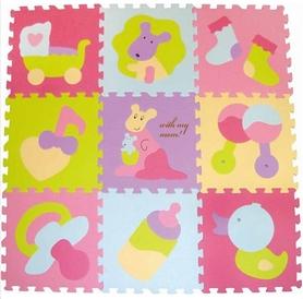 "Коврик-пазл детский Baby Great GB-M129KB ""Маленький кенгуренок"" 92х92 см"