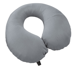 Подушка-подголовник самонадувающаяся Cascade Designs Self-Inflating Neck Pillow серая