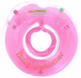 Круг на шею Baby Swimmer KP101017 розовый