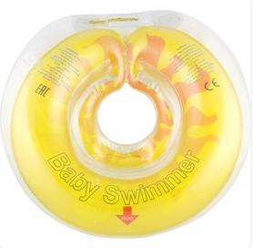 Круг на шею Baby Swimmer KP101019 желтый