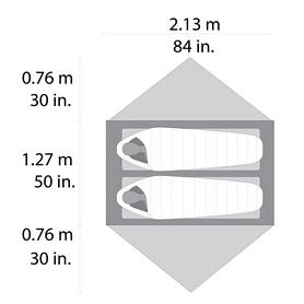 Фото 5 к товару Палатка двухместная Cascade Designs Hubba Hubba NX Tent серая