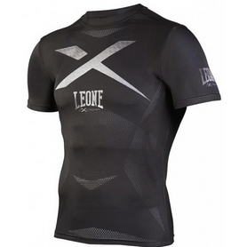 Рашгард с коротким рукавом Leone X-Shirt Black