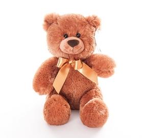 """Игрушка мягкая Aurora """"Медведь"""" 26 см коричневый"""