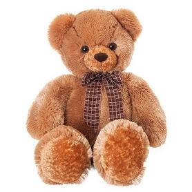 """Мягкая игрушка Aurora """"Медведь"""" 70 см коричневый"""
