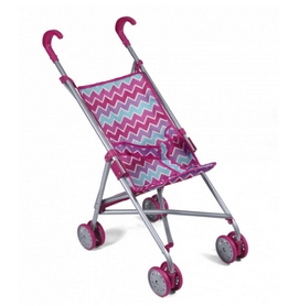 Коляска-строллер для куклы Todsy Walky, розовая (9302P)