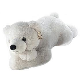 """Игрушка мягкая Aurora """"Медведь"""" 100 см белый"""