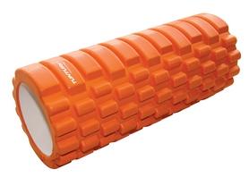 Валик для йоги Tunturi Yoga Grid Foam Roller 33 см оранжевый